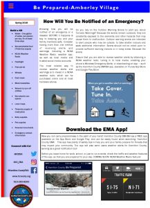 Icon of Amberly Village E-Newsletter