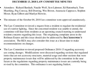 Icon of Law Committee 2018-12-13
